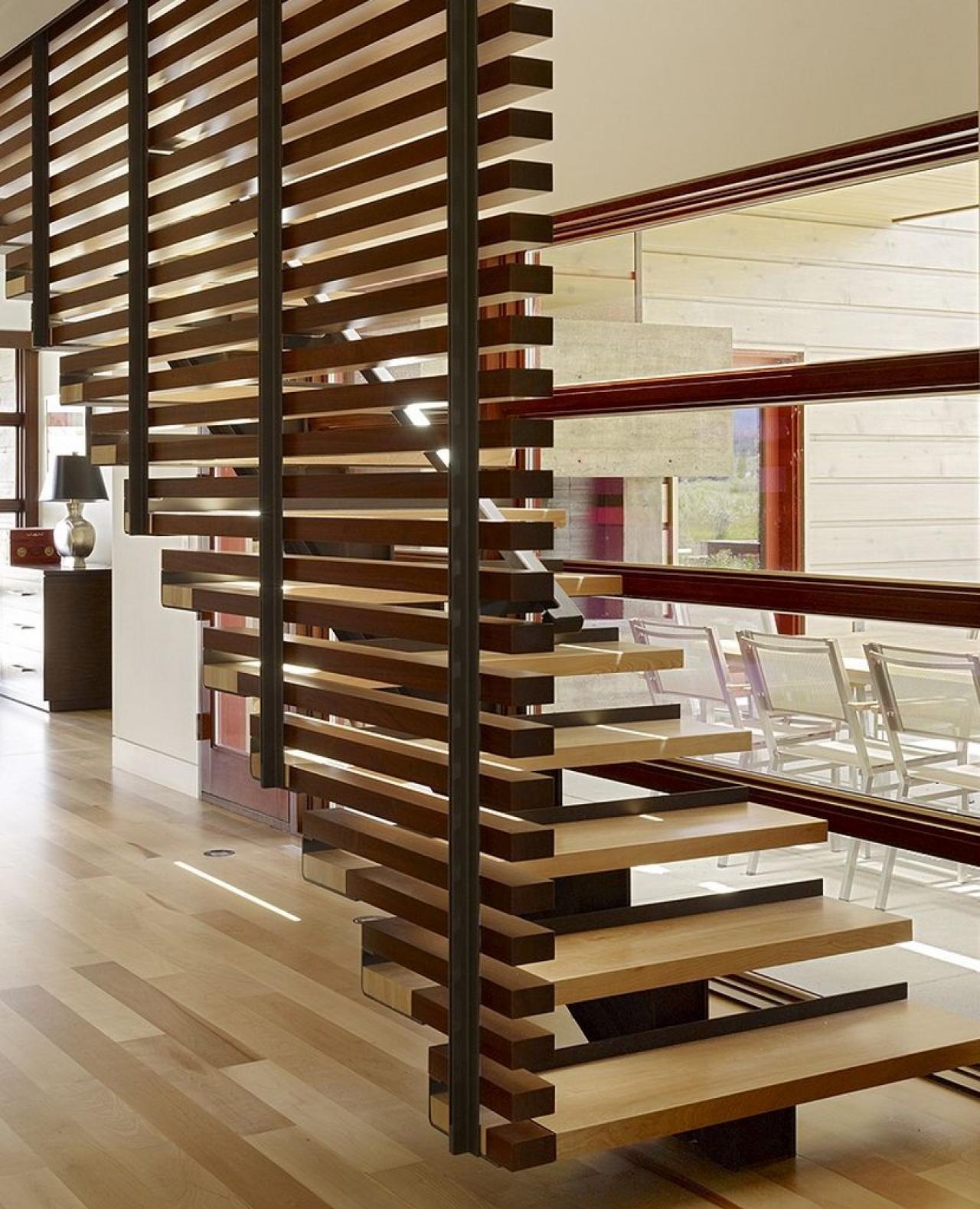 Ideas 19 Modern And Elegant Stair Design Ideas To: Spodaj: Varno In Udobno